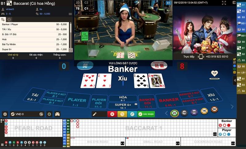 Trò chơi trong casino dễ kiếm tiền nhất - Baccarat
